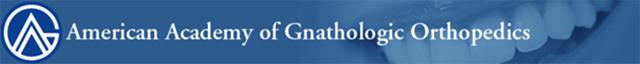 American Academy of Gnarthologic Orthopedics Logo